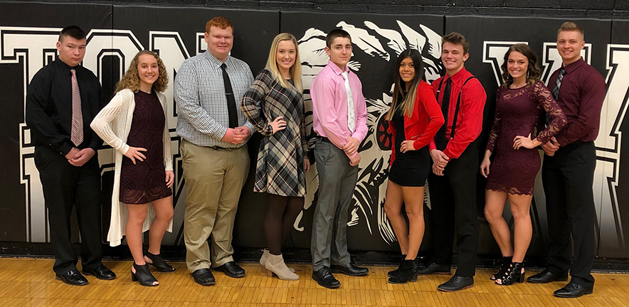 Winter Homecoming Court