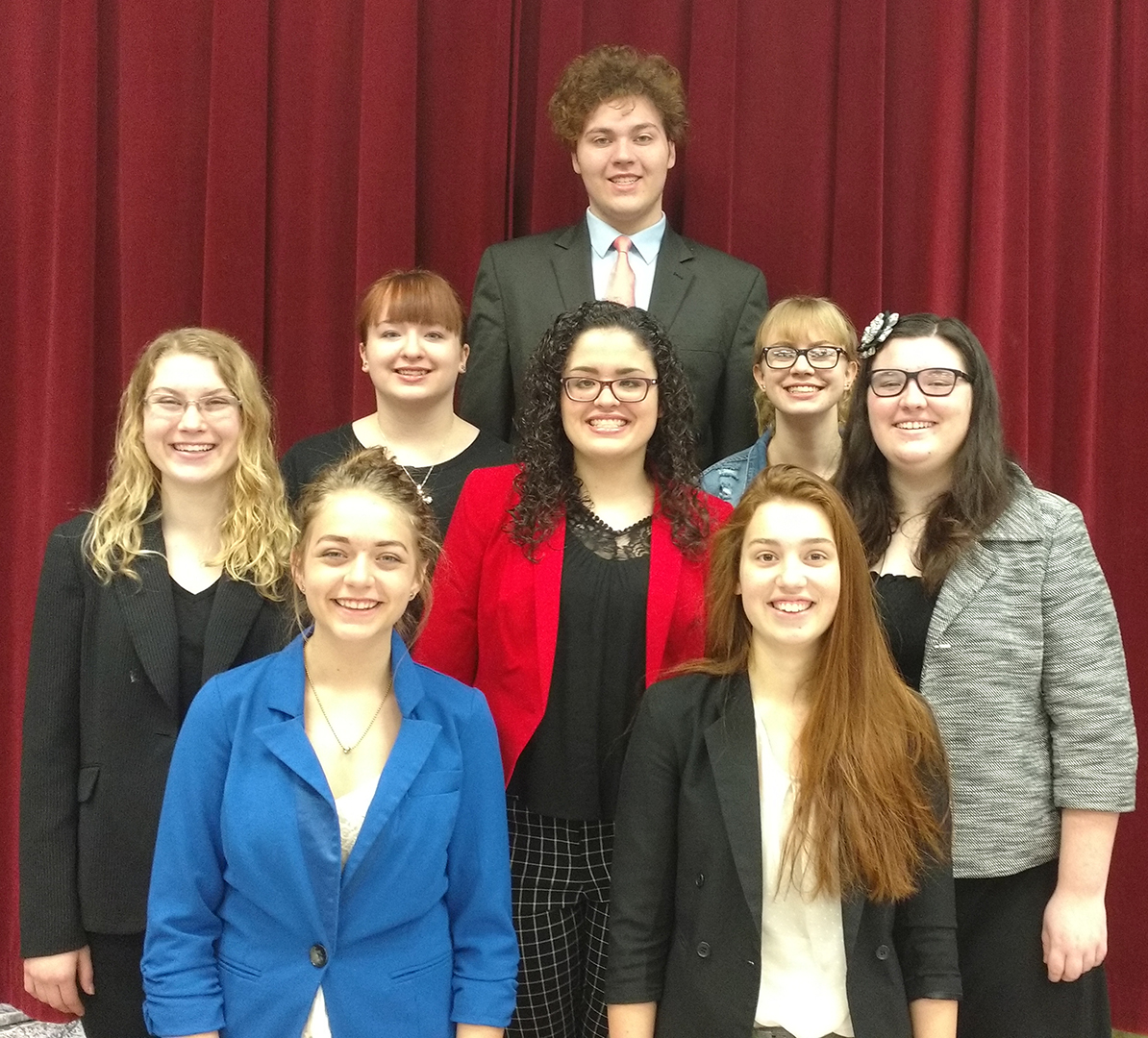 CHS Speech and Debate OHSSL State Finals Qualifying Competitor's