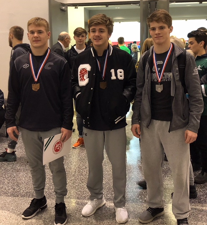State Wrestling Placers