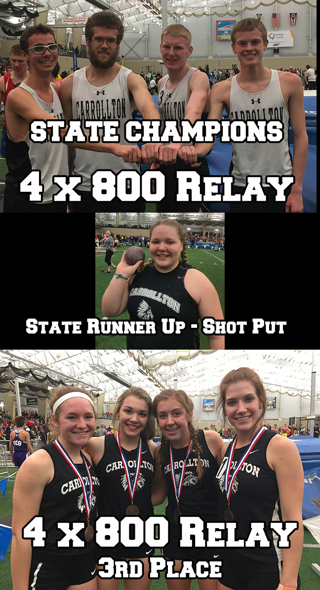 Indoor Track State Placers
