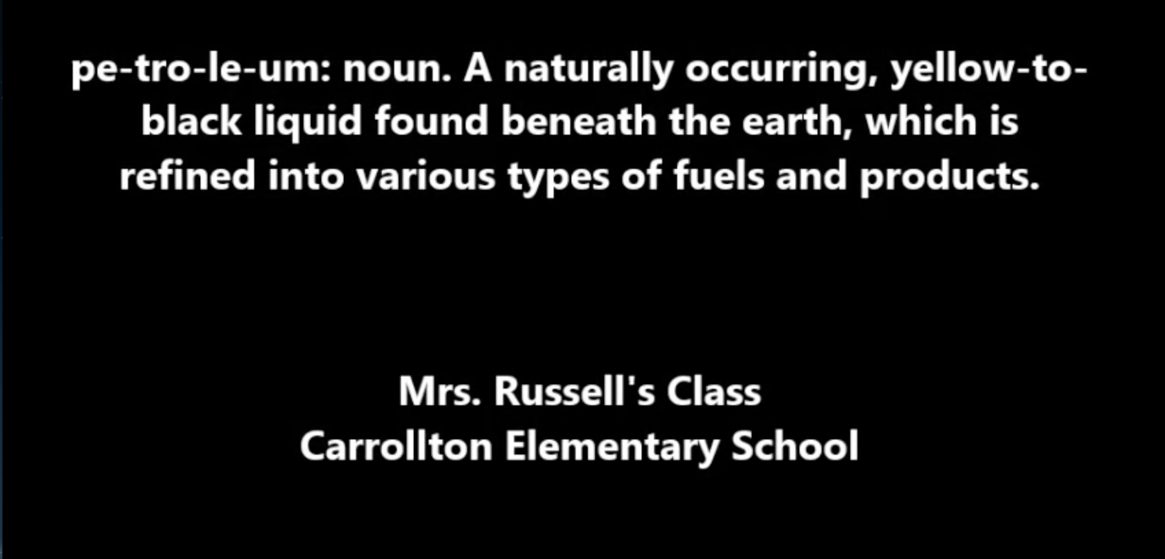 Mrs.Russell