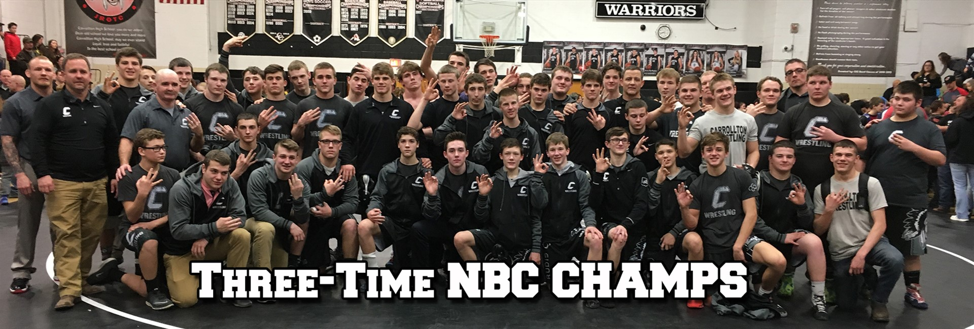 Three-Time NBC Champion Wrestling Team